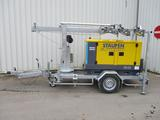 Atlas Copco Stromerzeuger QAS 20 m. Lichtmast