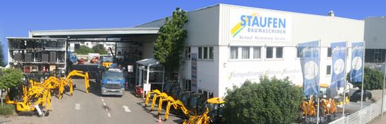 Staufen Baumaschinen Standort Göppingen